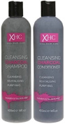 XHC Cleansing Purifying Charcoal Shampoo + Conditioner Set 400ml Xpel Hair Care