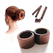 Shop Story – Easy – Magic Easy Hair Piece For Buns – Bun Bun – Colour Chocolate
