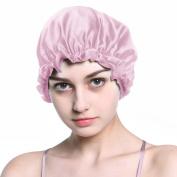 Bulary Silk Sleeping Natural Adjustable Night Hair Cap Head Hair Cover for Hair Beauty and Hair Moisture