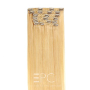 Clip in Hair Extensions Platinum Blond Extreme – 50 cm – 160g