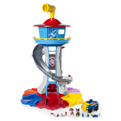 Paw Patrol – My Size Lookout Tower with Exclusive Vehicle, Rotating Periscope and Lights and Sounds