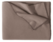Eagle Products fleece blanket taupe size 160x200 cm
