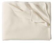 Eagle Products fleece blanket cotton blend wool white size 160x200 cm