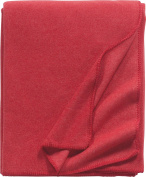 Eagle Products fleece blanket cotton blend red size 160x200 cm