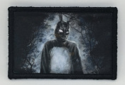 Donnie Darko Morale Patch Funny Tactical Military. 5.1cm x 7.6cm Hook Hook and loop Made in the USA Perfect for your rucksack, pack bag, Molle Gear, operator hat or cap!