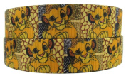 Disney's The Lion King Simba 2.5cm Wide Repeat Ribbon Sold in Yard Lots