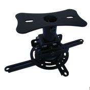 Universal Projector Ceiling Mount Bracket Adjustable Hanger Functional Mounts Black