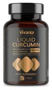Liquid Curcumin | Ultra Bioavailable | 185x Turmeric Bioavailability | 500mg x 60 Liquid Capsules with NovaSOL | Ultimate Curcumin