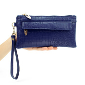 Wristlet Bags Wallet Purses for Women Phone Holder Handbag with Phone Pocket Leather