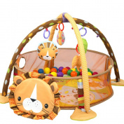 3-IN-1 Lion Activity Gym And Ball Pit