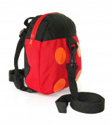 Child Safety Harness Toddler Backpack with detachable strap by Boxiki Kids. Mini Lightweight Ladybug Kid Tracker with Anti-Lost Belt. 8.4cm x 20cm . Toddler Harness Bag