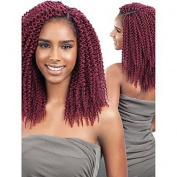 Gzhuang 2017 Island Twist Crochet Braids Hair Extensions 60cm Kanekalon Hair Braids Unravelled Senegalese Twists crochet braid hair synthetic braiding hair , burgundy