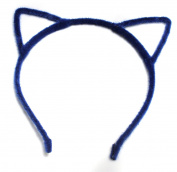 Alice Band Cat Ear Headband Adult Fluffy Women Hair Accessories Felt Metal