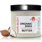 biOty garden Organic Shea Butter 500 g Odour free Head-to-Toe Moisturiser and Anti Ageing Therapy