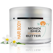 biOty garden Organic Monoi Shea Butter 160 g Head-to-Toe Moisturiser and Anti Ageing Therapy