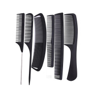 6pcs Professional Salon Hair Styling Hairdressing Hairdresser Barbers Combs Set