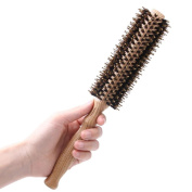Anti-static Hair Brush Pairs Round Curling Combs For Short to Long Hair , trumpet