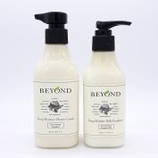 BEYOND Deep Moisture Shower Cream & Body Emulsion SET Creamy Body Wash and Body Lotion