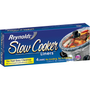 Reynolds Slow Cooker Liners, 4 ct