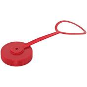 Nalgene Bulk Wide Mouth Red Loop-Top Lid