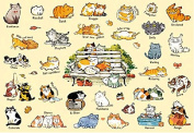 Apple One 300 Piece Jigsaw Puzzle Lovely Cat (26 X 38 Cm)