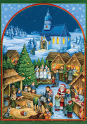Coppenrath Advent Calendar 'Church Christmas Market' Traditional