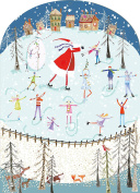 Real & Exciting Designs- 'Ice Rink' Advent Calendar