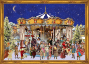 "Richard Sellmer Chocolate Advent Calendar ""Victorian Carousel"""