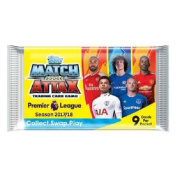 5x Topps EPL Match Attax 2017/18 Trading Card Collection Booster Pack