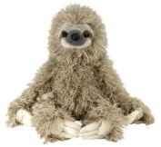 "Three Toed Sloth 12"" Plush Toy Cuddlekins by Wild Republic"