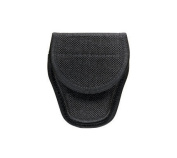 Bianchi Accumold 7300 Covered Black Handcuff Case Hook and Loop Hook and loop Closure (Size 2) - 23012 - Bianchi