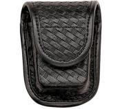 Bianchi 7915 Pager/Glove Pouch - Basket Black, Brass 22191 - 22191 - Bianchi