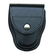 Bianchi 26339 PatrolTek Covered Handcuff Case Plain w/Chrome Snap
