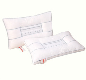 Pillow, massage /Protect the cervical spine / skin care fabric / healthy and comfortable breathable /one 47x73cm