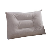 Pillow, corduroy fabric / washable / comfortable breathable / one 48x74cm