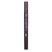 Women Waterproof Liquid Eye Liners Pen, Lotus.flower One Second Easy to Wear Vamp Cat Eye Wing Eyeliner Stamp Tool Makeup Kit