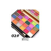 Smoky Eyeshadow,vmree 24 Colours Cosmetic Eye Shadow Palettes Eye Beauty Makeup Plate
