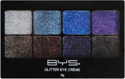 BYS Glitter Eye Cream 8 Hues Eyeshadow Makeup Palette Boogie Nights
