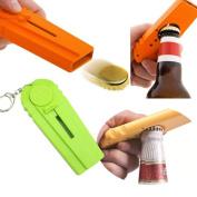 Gillberry Christmas Kitchen Useful Portable Flying Cap Beer Bottle Drink Opening Cap Launcher Opener