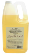 Sweet Almond OIl. Soap making supplies. Cold pressed. 3.2kg Gallon