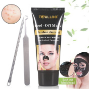 Black Mask, Black Head Remover Mask, Charcoal peel off Mask, Purifying Peel Off Mask, Bamboo Charcoal Facial Black Mask , Black Mud Oily Skin Peel-off Deep Cleaning Mask Acne Facial Cleansing
