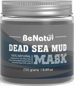 Benatu Dead Sea Mud Mask - 100% Pure & Natural Clay for Face & Body 260ml