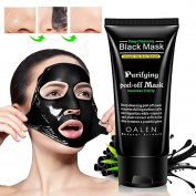 Deep Cleansing Purifying Blackheads and Acne Peel-off Mask Black Mud Face Mask 50g by TOPUNDER