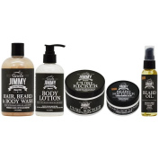 Uncle Jimmy Hair Body & Beard Care 5-piece Collection