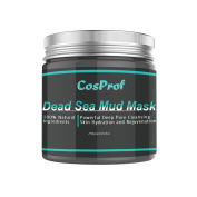 Cosprof Dead Sea Mud Mask For Face Acne Oily Skin Blackheads Pore Minimizer