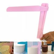 Creazy Adjustable Fondant Cake Scraper Icing Piping Cream Spatula Edges Smoother