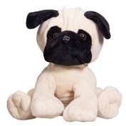 Pug Dog , 40cm/16 inch, Make your own teddy bear kit – no sewing