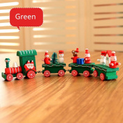 Buyby 1PC Christmas Train Wood Toys for Kids Children Safe High Quality