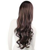 Women Fashion Style Wavy Curly Long Hair Full Wigs