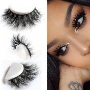 Gemini_mall® 3D Artificial Hair False Eyelashes Natural Thick Eye Lashes Makeup Extension Handmade